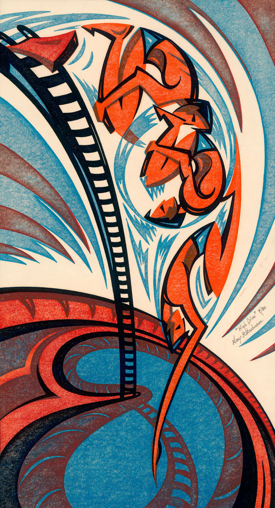 Gary Ratushniak prints High Dive