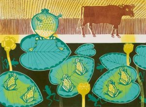 A Frog and an Ox by Edward Bawden