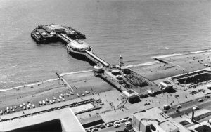 Aerial Photograph of the West Pier, Brighton by unkown
