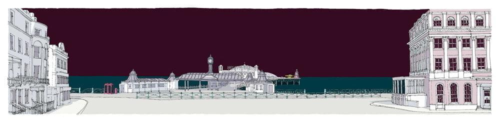 alej ez Brighton City Pier 124x30.5