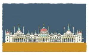 alej ez Brighton Royal Pavilion 84.1x59