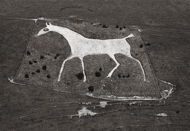 Alton Barns White Horse by unkown