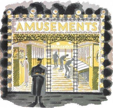 Amusement Arcade by Eric Ravilious