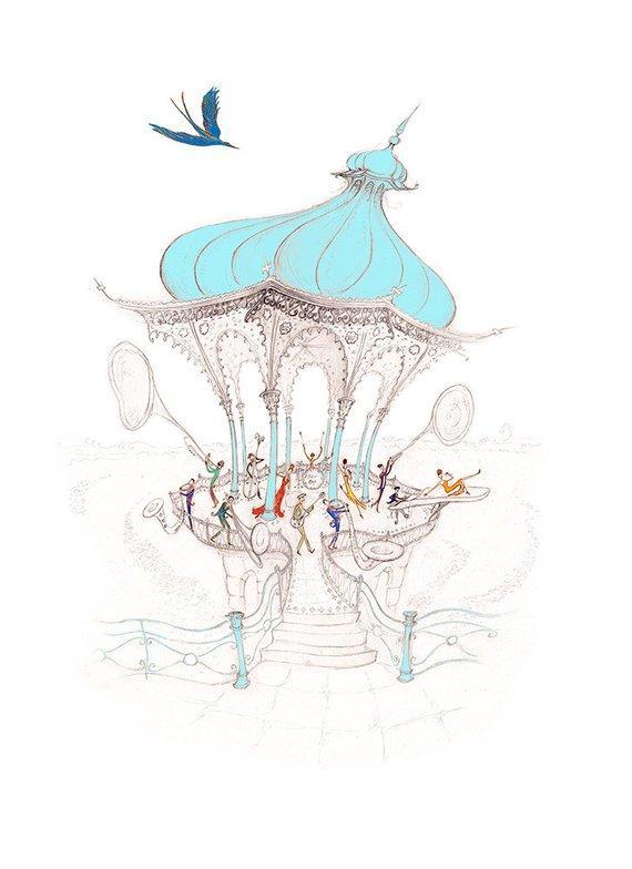 Be Bop Birdcage by Harriet Butler