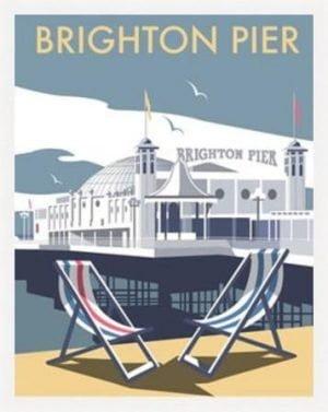 Brighton Pier by Dave Thompson