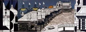 Brighton Pier by Edward Bawden