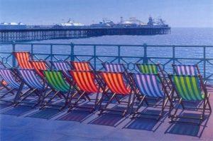 Brighton Sunny by Philip Dunn