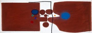 Brown Symphony by Victor Pasmore