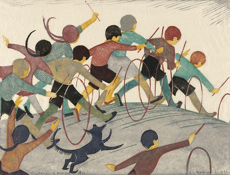 Children's Hoops by Ethel Spowers