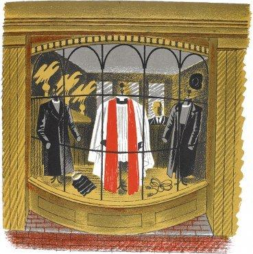 Clerical Outfitter by Eric Ravilious