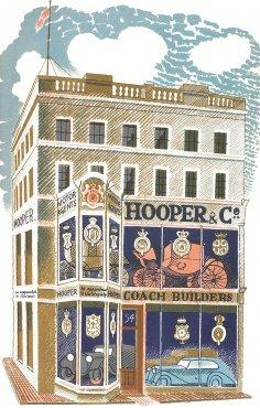 Coach Builder by Eric Ravilious