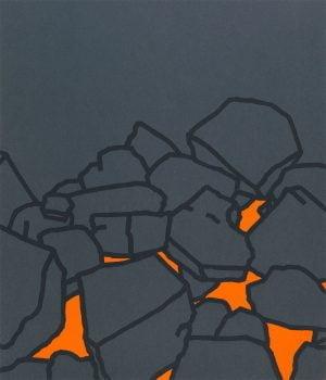 Coal Fire by Patrick Caufield