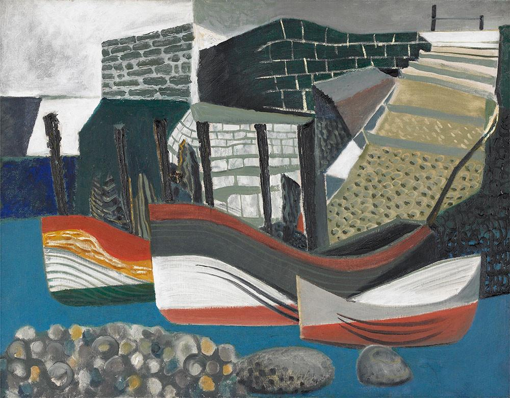 Cod and Lobster Pots, Staithes by Peter Yates