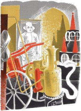 Fire Engineer by Eric Ravilious