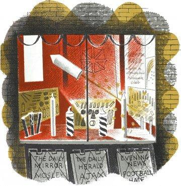 Fireworks by Eric Ravilious