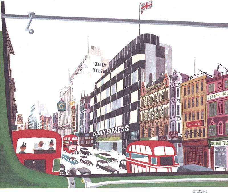 Fleet Street by Miroslav Sasek