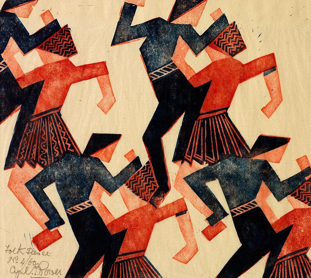 Folk Dance by Cyril Power