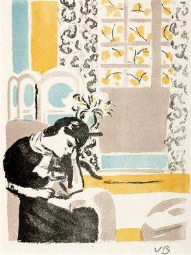 Girl Reading by Vanessa Bell