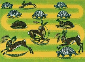 Hare and Tortoise by Edward Bawden