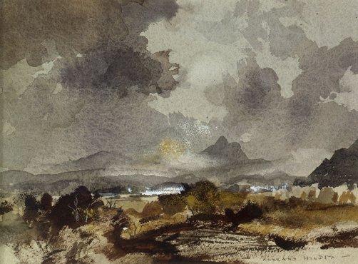 Highland Scene by Rowland Hilder