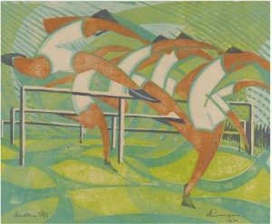 Hurdlers by William Greengrass