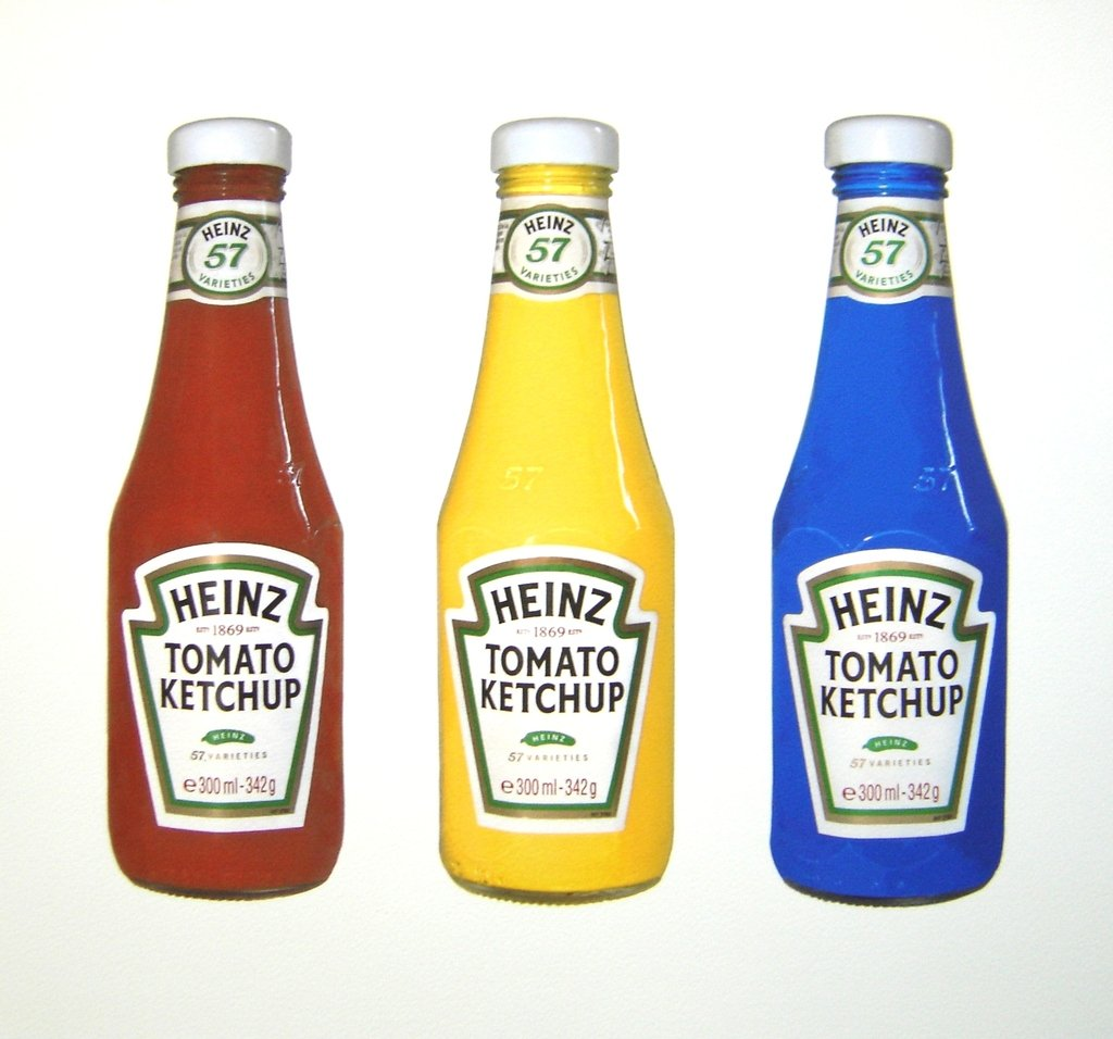 Infinate Variety Ketchup Print by unkown