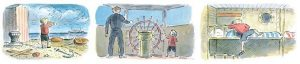 Little Tim and the Brave Sea Captain. by Edward Ardizzone