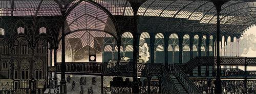 Liverpool Street Station by Edward Bawden