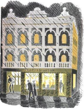 Public House(The Brighton) by Eric Ravilious