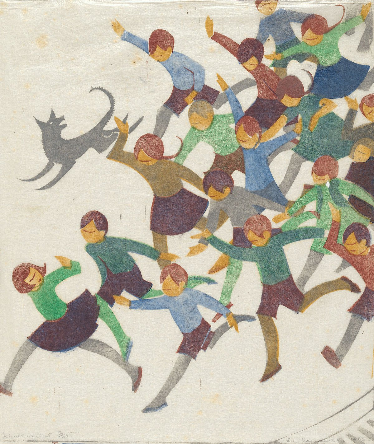 School is Out by Ethel Spowers