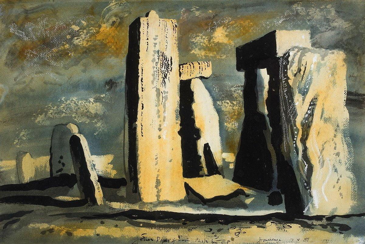 Stonehenge by John Piper
