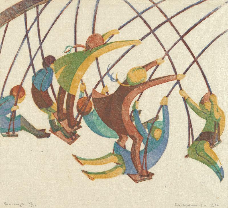 Swings by Ethel Spowers