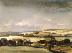 The Downs by Rowland Hilder