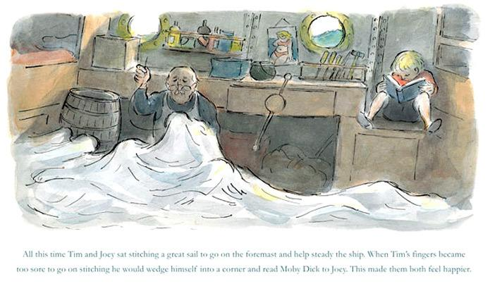 The Great Sail (orig. untitled) by Edward Ardizzone
