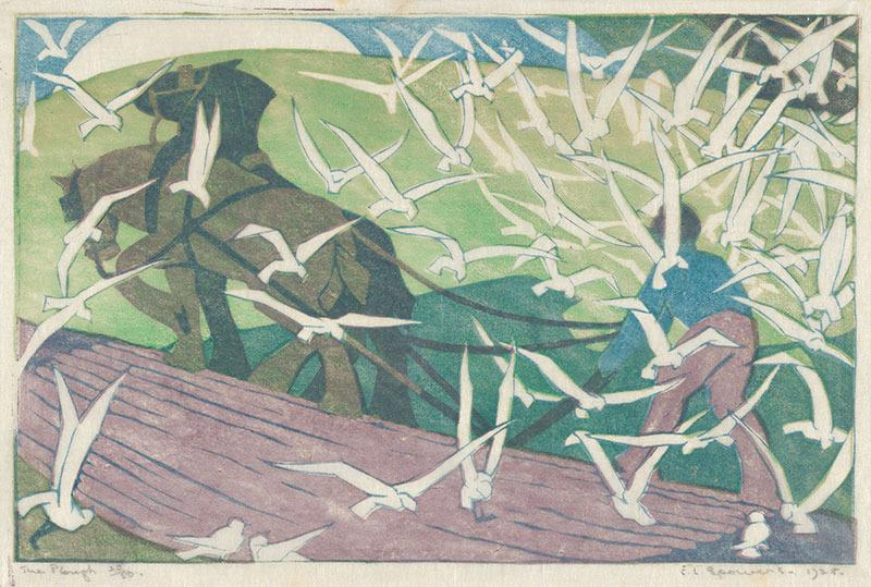 The Plough by Ethel Spowers