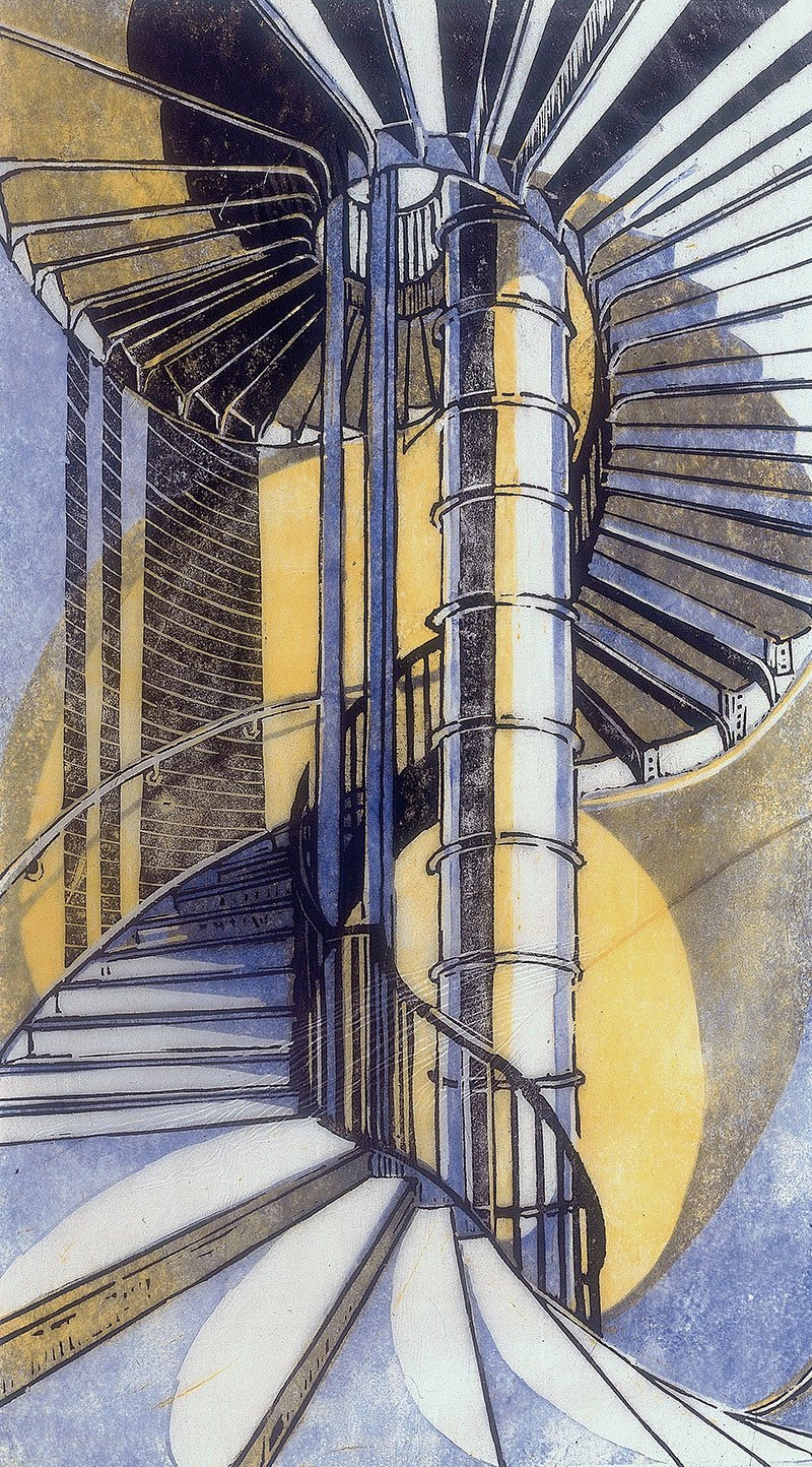 The Tube Staircase by Cyril Power