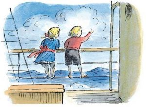 Tim and Lucy (orig. untitled) by Edward Ardizzone