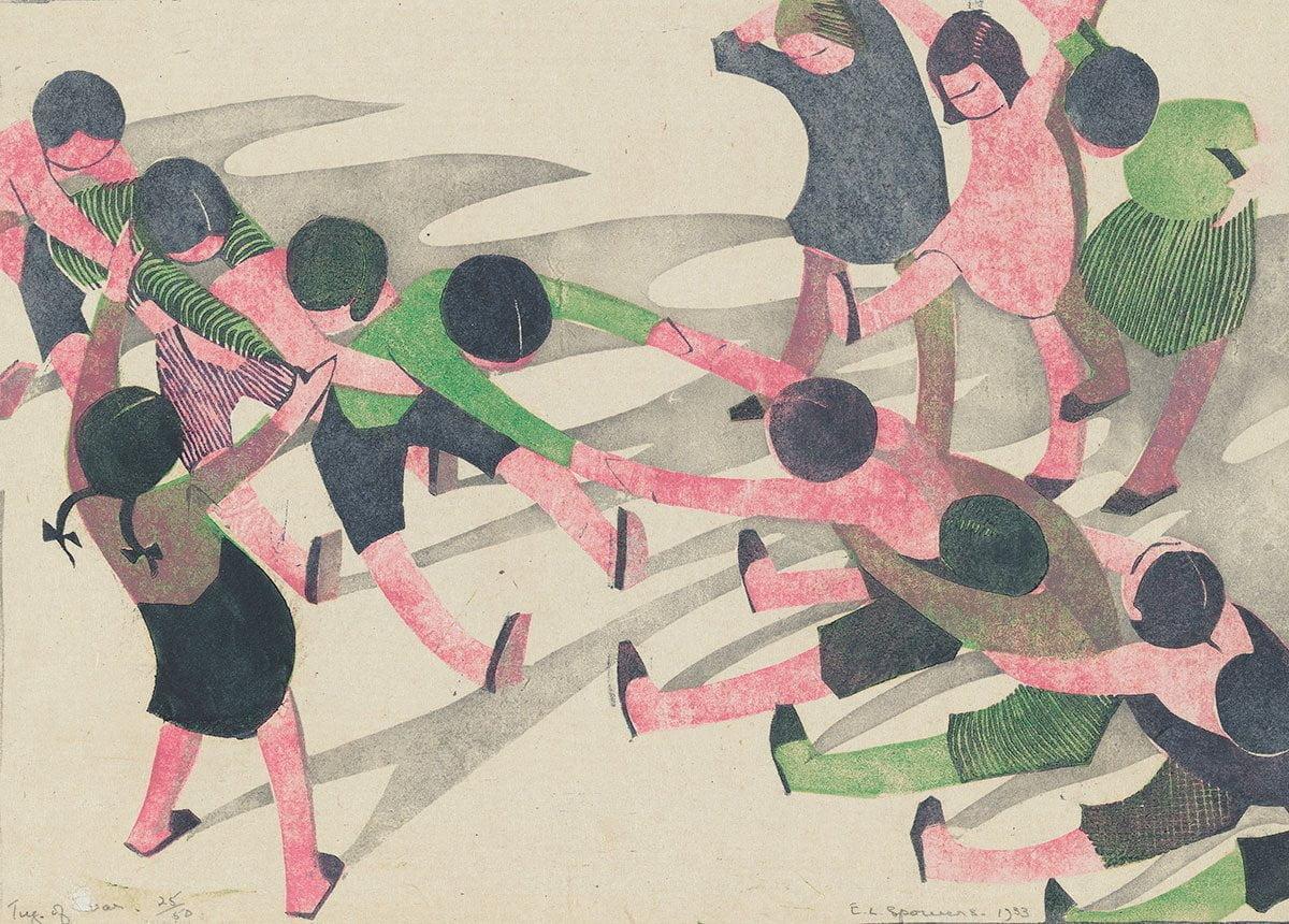 Tug of War by Ethel Spowers