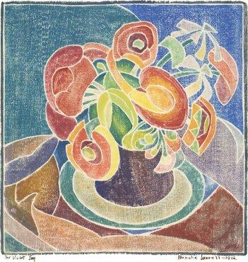 Violet Jug by Blanche Lazzell