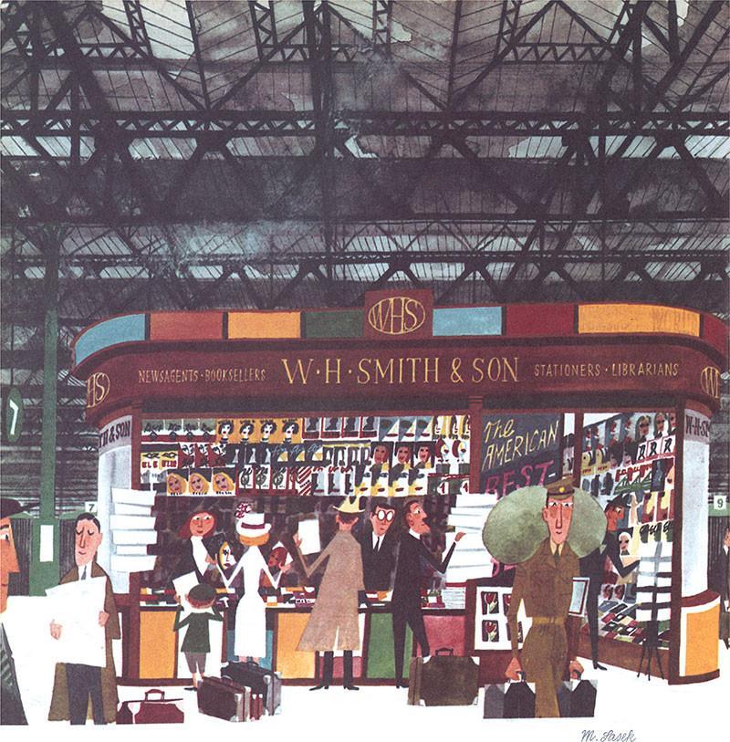 W.H.Smith & Sons by Miroslav Sasek