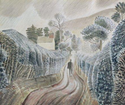 Wet Afternoon by Eric Ravilious