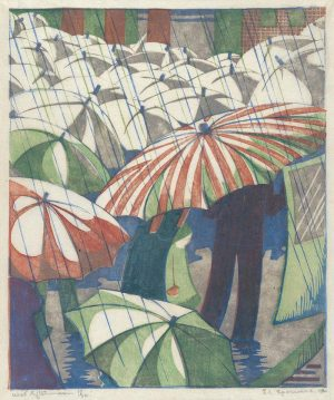 Wet Afternoon by Ethel Spowers