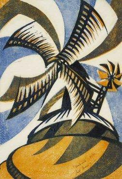 Windmill by Sybil Andrews