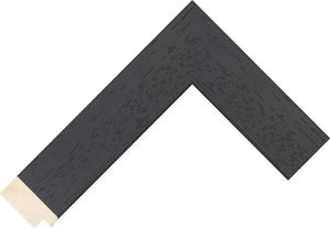 sample of black wide frame