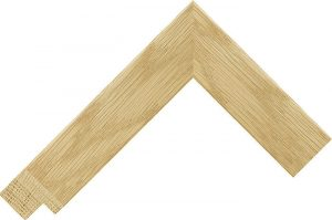 sample of wide oak frame