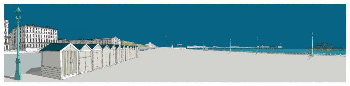 Brunswick-Palmeira-and-the-piers-Ocean-Blue-by Alej-ez