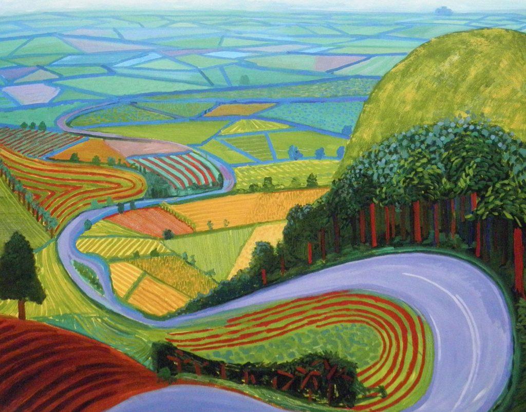 Garrowby-Hill by-David-Hockney
