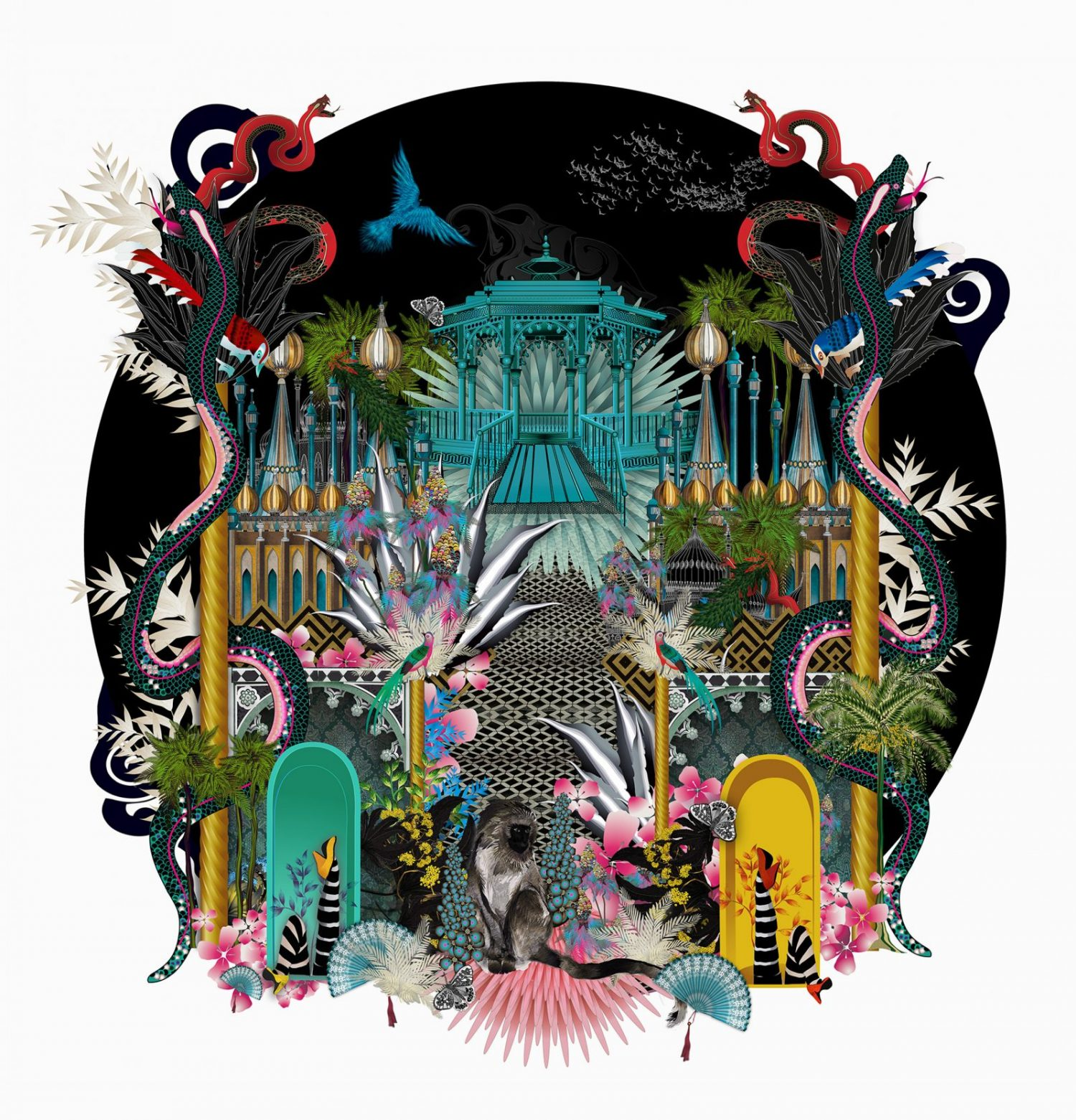 Round-Brighton-technicolour-By-Sarah-Arnett