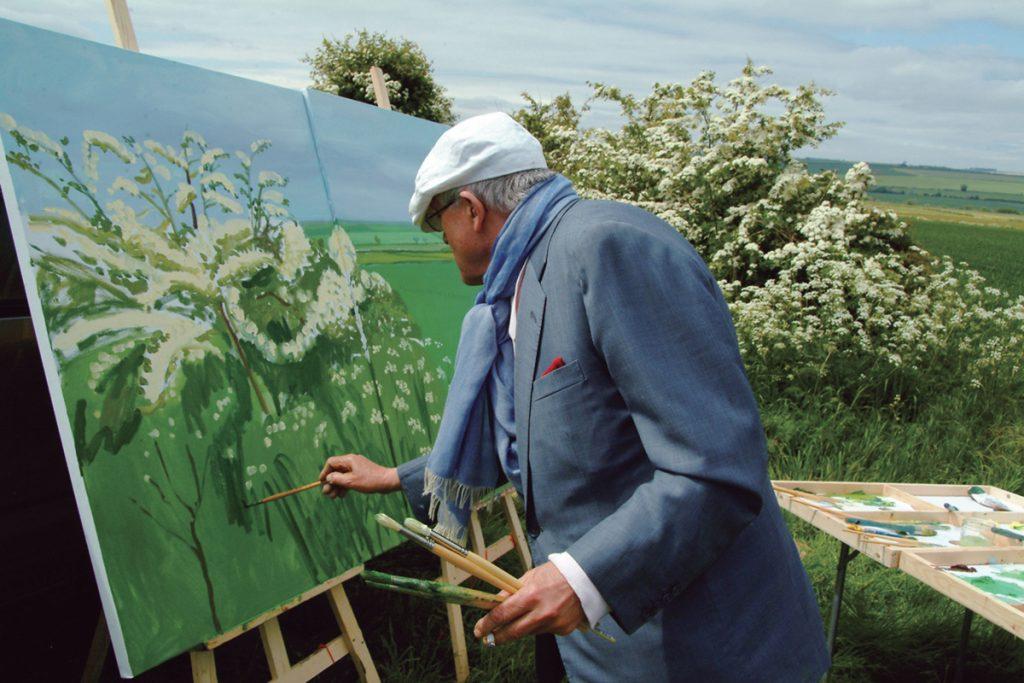 David-Hockney-Painting