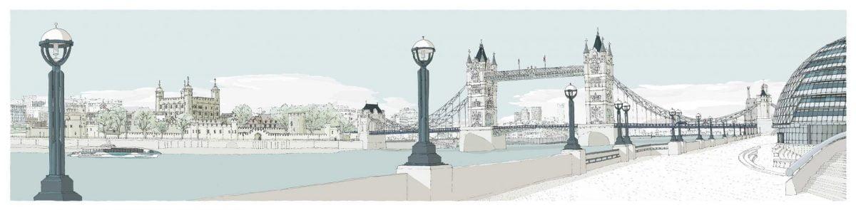 London-River-Thames-by-Tower-Bridge-Pebble-Beach-by-alej-ez